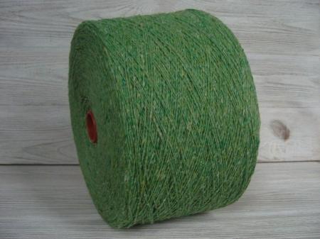 Твид: Шерсть 80%, ПА 20%, зелёное яблоко (n.m. 270м/100г)