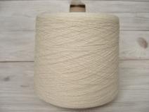 Рустикальный Шёлк 100% , айвори (натуральный, неокрашенный цвет) (m.n.1700м/100г)