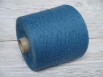 Супер кид мохер 67%, меринос 3%, ПА 30%, голубой Деним (m.n. 1/10=1000м/100г.)